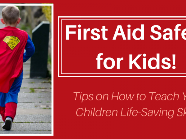 First Aid Safety for Kids Image