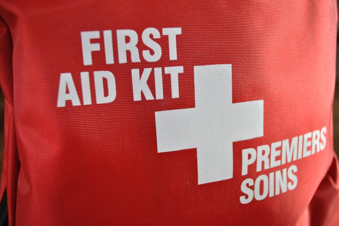 First Aid Kits Symbol Close-up