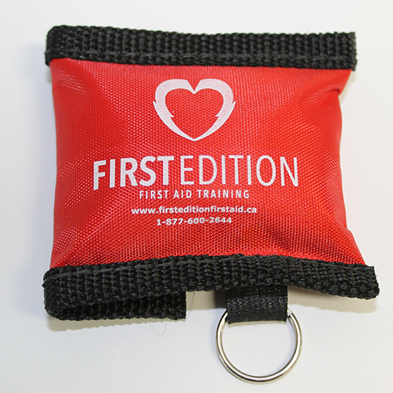 Keychain first aid kit