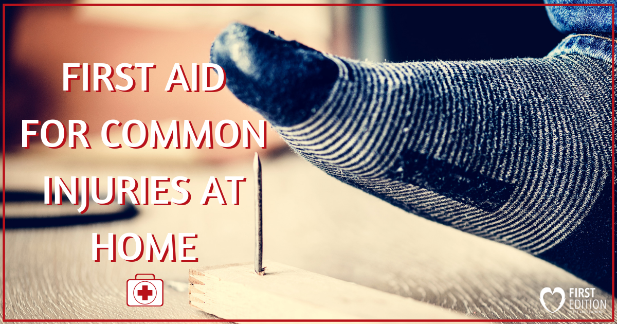 First Aid for Common Injuries at Home Image