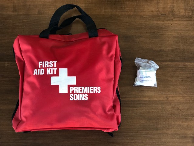 FIRST AID KIT - CPR Face Shield