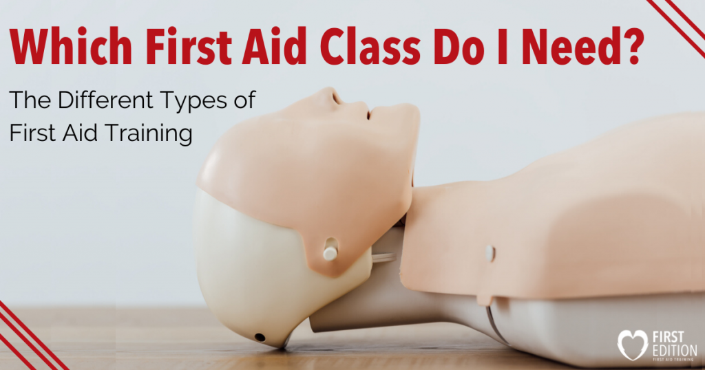 Different Types of First Aid Training Image